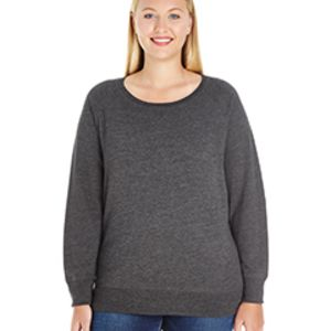 Ladies' Curvy French Terry Pullover Thumbnail