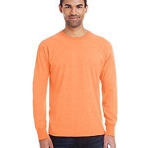 Men's 4.5 oz., 60/40 Ringspun Cotton/Polyester X-Temp® Long-Sleeve T-Shirt Thumbnail
