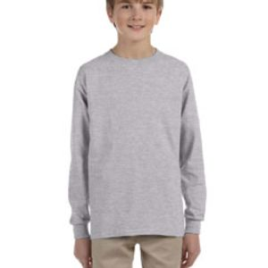 Ultra Cotton® Youth 6 oz. Long-Sleeve T-Shirt Thumbnail